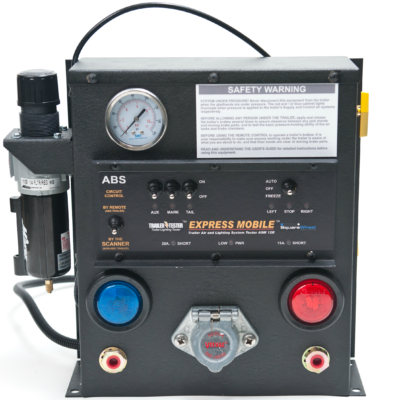 Remote Control Light & Air Brake Tester Equipment
