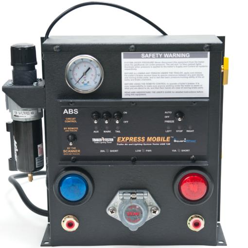 Remote Control Light & Air Brake Tester Equipment